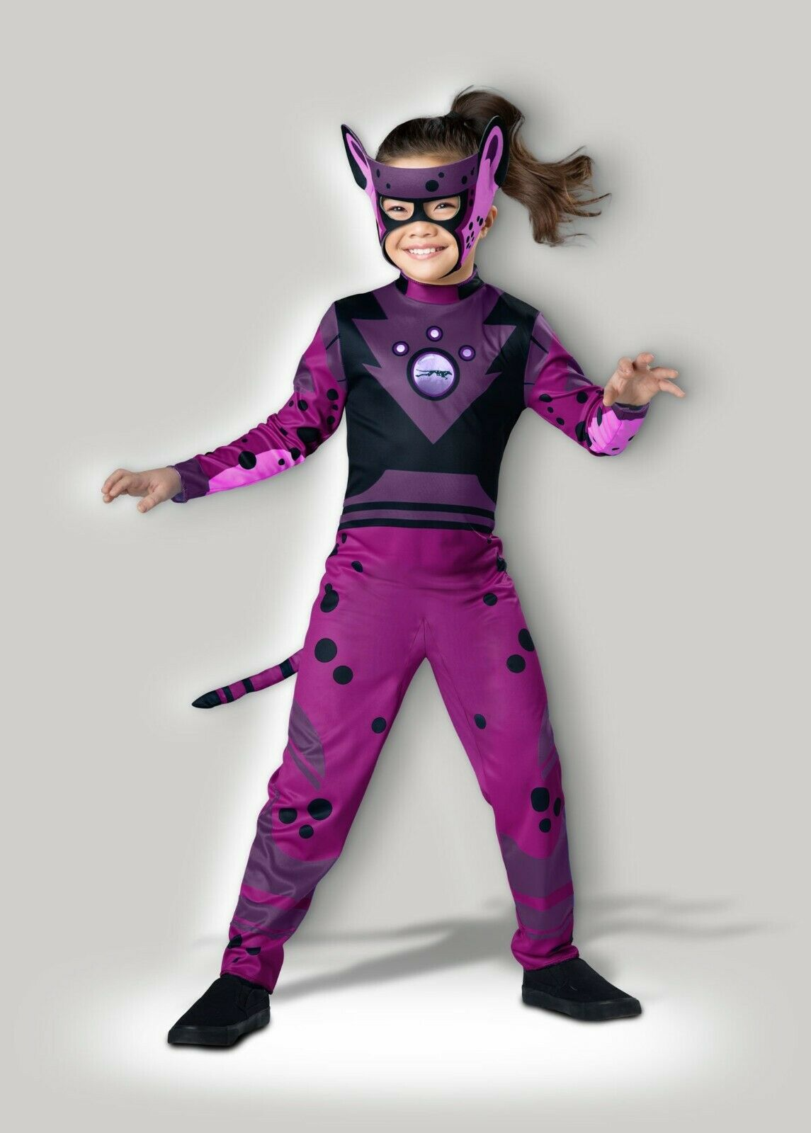 One Color Wild Kratts InCharacter Costumes Cheetah-Green Costume 6