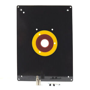 9 x 12 x 38 router table insert plate rings 3 78 2 58 1 1 image is loading 9 034 x 12 034 x 3 8 greentooth Gallery