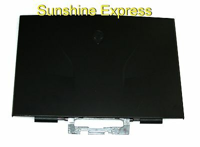 Original Dell Alienware M11X R3 Black LCD Back Cover with Hinges 3KVYJ