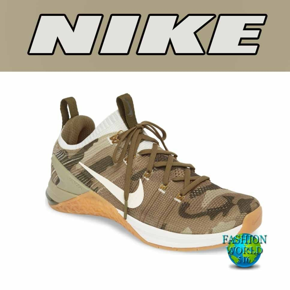 nike taille 10 metcon dsx hommes flyknit formation 2 formation flyknit chaussure olive / argent / le stuc 924423 68ebe0