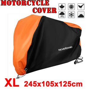 XL-Universal-Outdoor-Waterproof-Motorcycle-Motorbike-Cruiser-Scooter-Bike-Cover