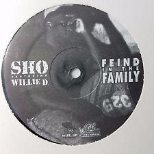 "Sho  Fiend In The Family 12-PO190 NM Vinyl 12"" EP WLP White Label Promo 1993"