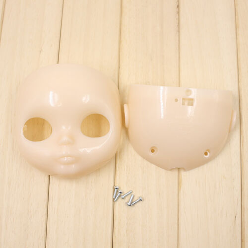 "Transparent Skin Faceplate for RBL 12/"" Neo Blythe Doll Without Makeup"