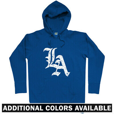 Hoody Men S-3XL LA Gothic Los Angeles Hoodie Gift Dodgers Lakers Chargers
