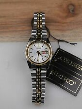 SEIKO Two-Tone Stainless steel Analog SEIKO Quartz  New With Tags  SWZ054