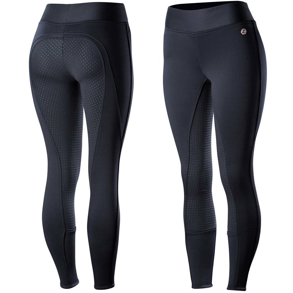 36610 Horze Women's Active Silicone Full Seat Tights NEW