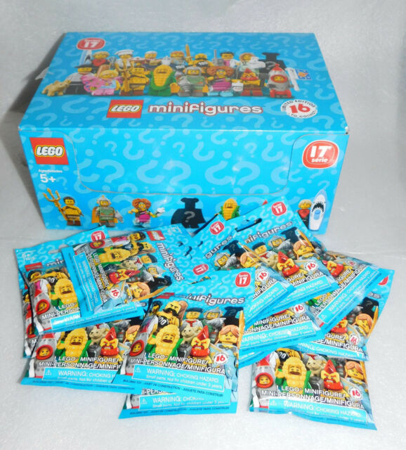 Sealed Set Lego Series 17 Complete Collectible Minifigure Box 71018 Butterfly