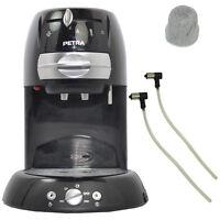 Petra Kaffeepadmaschine Kaffee Pad Automat Km 42.17 Schwarz 1600 Watt