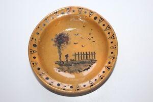 Ecuelle-epoque-19-eme-siecle-en-poterie-ceramique-vernissee-du-Sud-de-la-France
