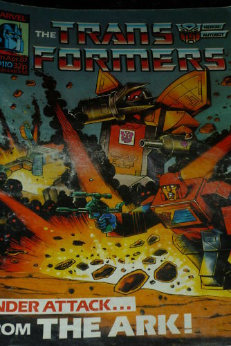 Date 25//04//1987 The TRANSFORMERS Comic UK comic No 110