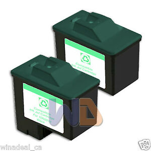 2-BLACK-16-Lexmark-Ink-Cartridge-16-for-All-in-One-X1150-X1270-X2250-X75