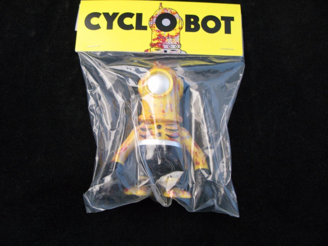 San Diego comic-con 2016 oxidado robot cyclobot Super 7 figura base secreta