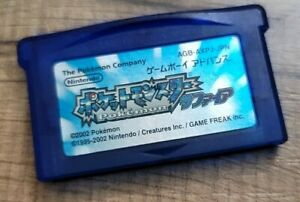 Pokemon Sapphire Japanese Pocket Monsters New Save Battery Authentic US Seller