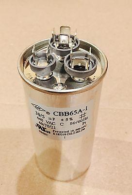 Lot 5 Dual Run Capacitor 5+30 30//5  MFD uf 370v 440v AC Motor 440 370 v volts