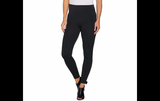 4f93ca7efe Buy Spanx Seamless Side Zip Leggings Very Black M A297851 online