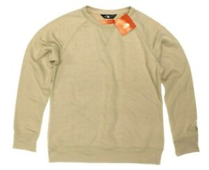 73d052bb4 NWT - THE NORTH FACE Women's 'TERRY CREW' Peyote Beige Heather ...