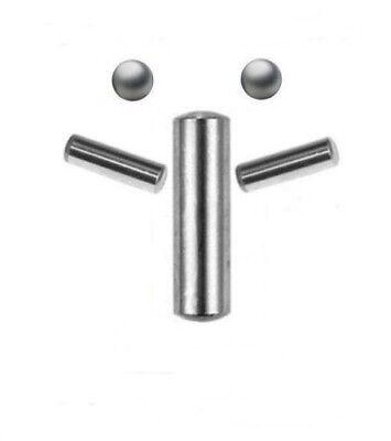2 Stück Zylinderstifte DIN 7 ROSTFREI EDELSTAHL 6X70