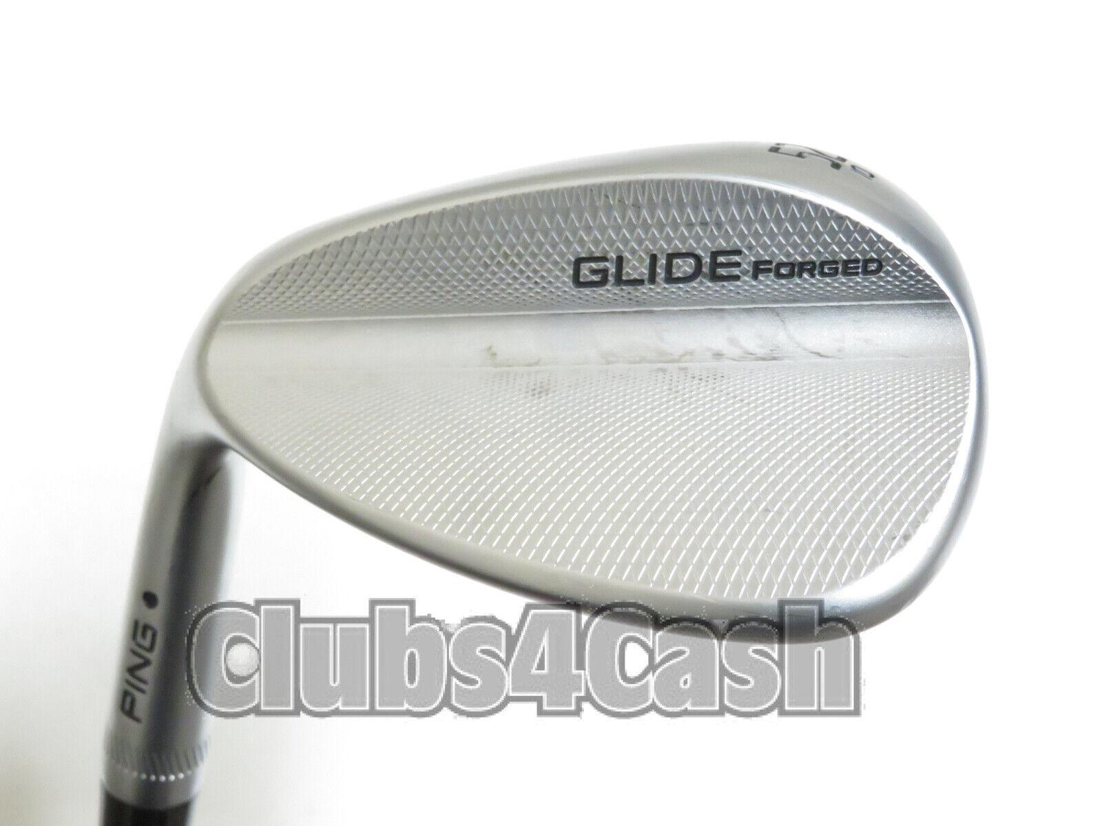 Ping Glide Forjado Cuña Punto Negro oro Dinámico S300 rígido  52.10 Gap 52 ... izquierda  edición limitada