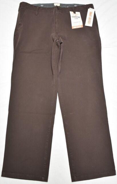 pretty cheap most popular new concept Dockers Pants Men Downtime Khaki Straight Fit Smart 360 Flex Stretch Brown  P307