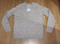 Rare Samsoe & Samsoe 70% Wool/linen/alpaca/ Blend Jumper, Large 42 Chest