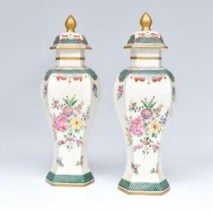 Coppia-vasi-in-Porcellana-di-Parigi-Pair-of-034-Porcelaine-de-Paris-034-vases