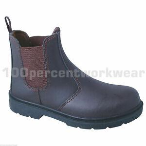 Taille 7 Royaume 41 en Sf12 cuir marron Bottes de Euro Uni Blackrock cuir embout Dealer travail ww14dxr