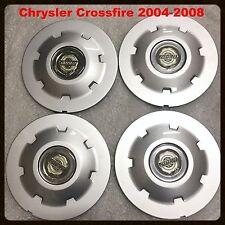 "OEM 4 PIECES 2004-2008 Chrysler Crossfire 18"" 19"" CENTER CAPS 77515 2229 2230"