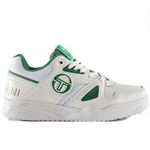 Sergio-Tacchini-Top-Play-CLS-LTH-Sneaker-Uomo-STM912015-03-White-Green