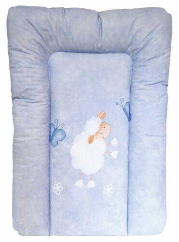 Wickelauflage 67 x 47 cm SOFTY von UNITED-KIDS Schaf Ökotex Standard 100 blau