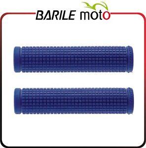 Coppia-Manopole-Bici-Graziella-Olanda-Sport-MTB-City-Fixed-Blu