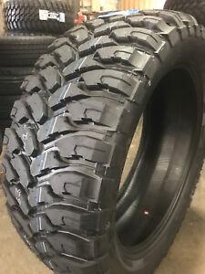 4 New 285 65r18 Comforser Cf3000 Mud Tires M T Mt 285 65 18 R18