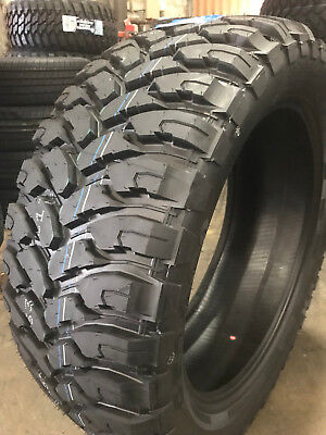 2 New 33x12 50r18 Comforser Cf3000 Mud Tire M T Mt 33125018 R18 1250