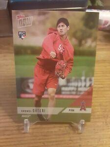Shohei Ohtani Los Angeles Angels Rookie 2018 Topps NOW OD-167 RC