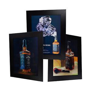 3 Dimension 3D Lenticular Picture Jack Daniel/'s Bottle Pool Table Girl Marijuana
