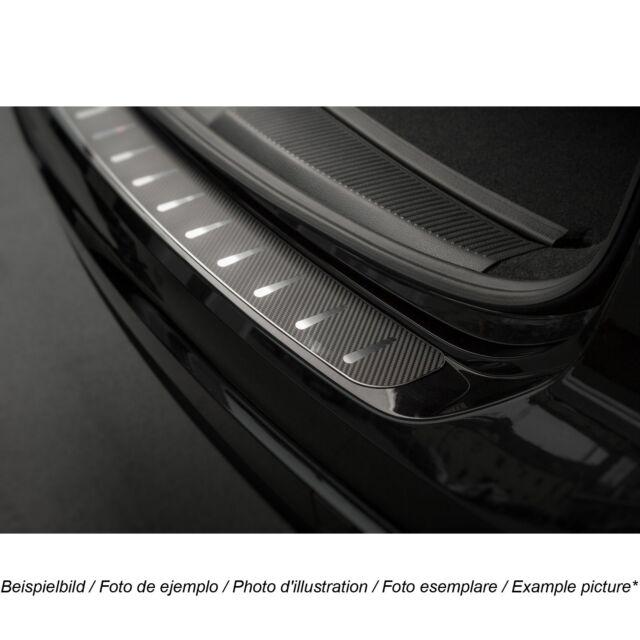 Ladekantenschutz für VW Touran 1 I 1T1 2003-2010 Edelstahl Carbonfolie