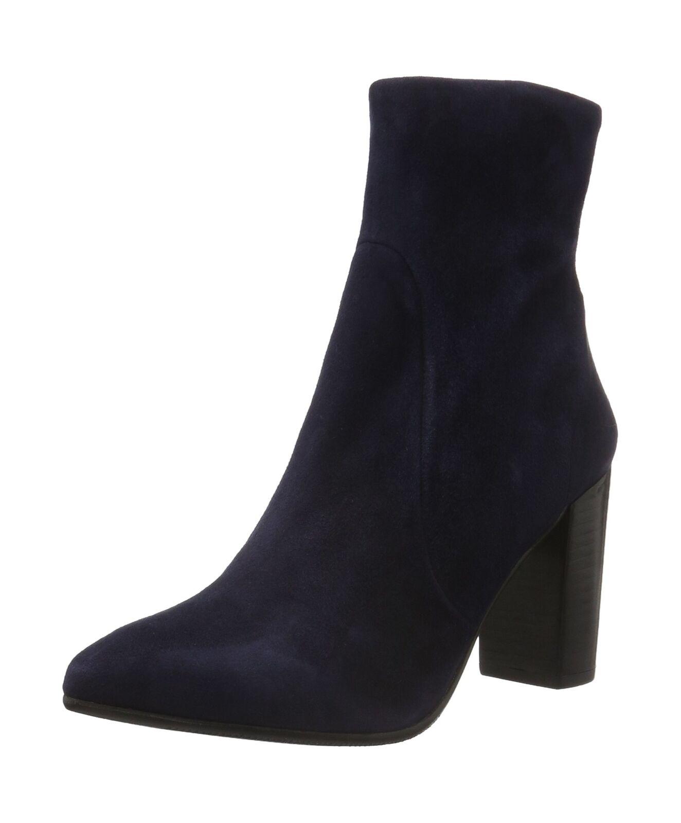 Descuento de la marca Buffalo Londres para mujer es 30757 Camurca Tobillo Botas Azul (Azul 65) 6.5 Reino Unido