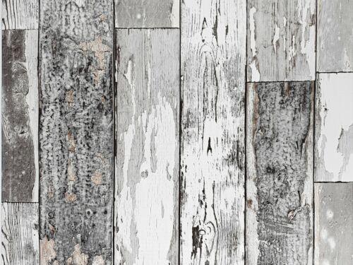 Möbelfolie 10€//m² Gekkofix Scrapwood dark Polar Brett Selbstklebefolie Holzoptik