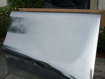 "One Way MIRROR Reflective Tint Silver 20/% 60/""x 100/' Feet Window Film Dark inters"