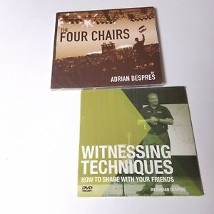 New Adrian Despres Cd Lot God Jesus Religious 4 Four Chairs Witnessing Technique