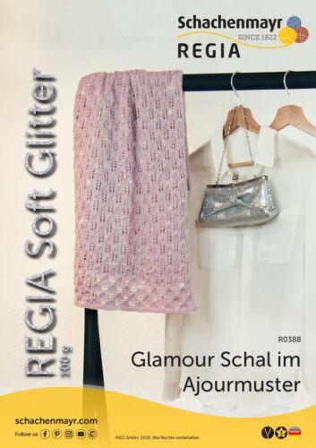 Regia Soft glitter deslumbrante calcetines lana compartimento 4 calcetines tejer 4 fädig