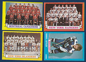 MONTREAL-CANADIENS-TEAM-73-74-TOPPS-1973-74-NO-100-NRMINT-7286