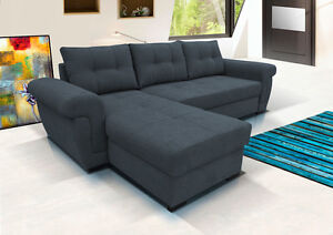 Image Is Loading Brand New Universal Corner Sofa Bed With Storage
