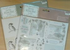 Papermania A4 Decoupage 8 Sht Pk Tales from Willson Wood Woodland Creatures Owls
