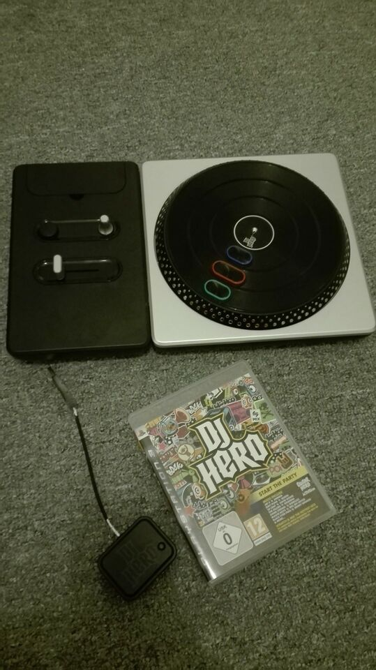 dj hero, PS3