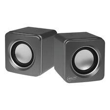 ARCTIC S111 (Grau) - 2.0 Lautsprecher Multimedia Boxen für Notebook - PC