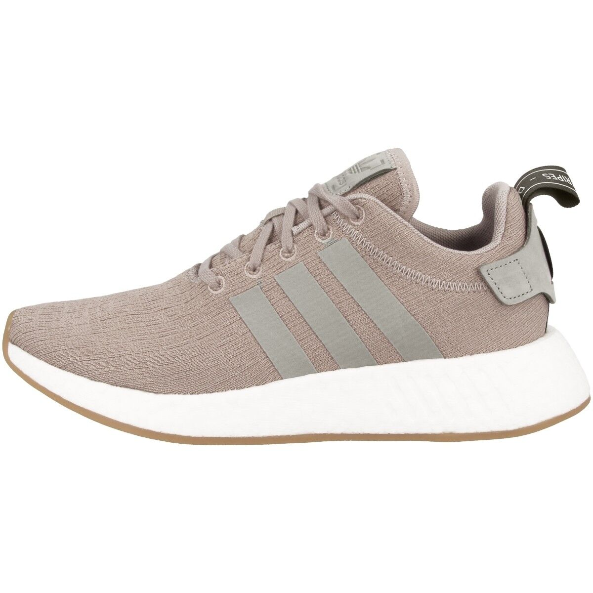 Adidas NMD_R2 Schuhe grey Freizeit Sneaker Turnschuhe Sneakers vapour grey Schuhe CQ2399 f3cc64