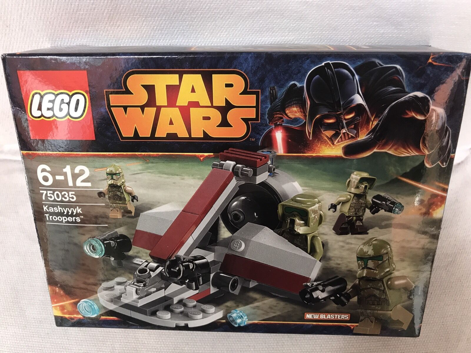 Lego 75035 Star Wars - Kashyyyk Troopers [NEW]