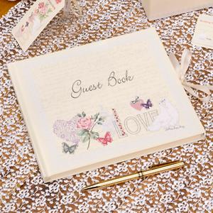 Gastebuch Hochzeit With Love Hochzeitsgastebuch Creme Vintage Ebay
