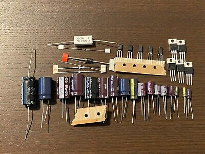 Marantz 2235B Power Supply Capacitor Upgrade Set High-Quality Receiver Recap Kit