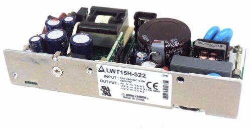 NIB NEMIC-LAMBDA LWT15H-522 POWER SUPPLY LWT15H522